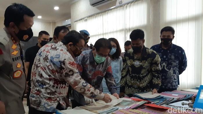 Polda Banten Ungkap Pemalsuan Dokumen Tanah