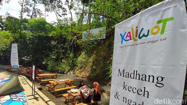Restoran unik Kaliwot di Magelang, Jateng