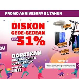 Ikutan Detikcom Live Shopping, Belanja Online Diskon hingga 51%!