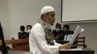Menantu Habib Rizieq Divonis 1 Tahun Penjara!