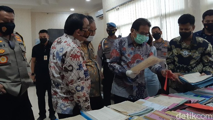 Sofyan Djalil kaget ada pemalsuan dokumen garik di Banten