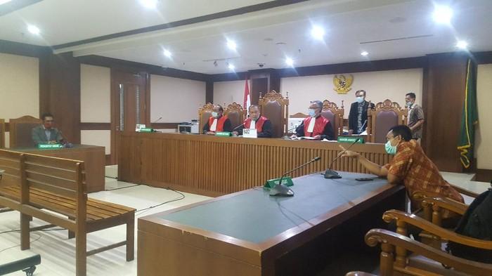 Suasana Sidang PK Saipul Jamil, Agenda Tandatangan Berita Acara Jumat (26/3). (Foto: Zunita/detikcom)