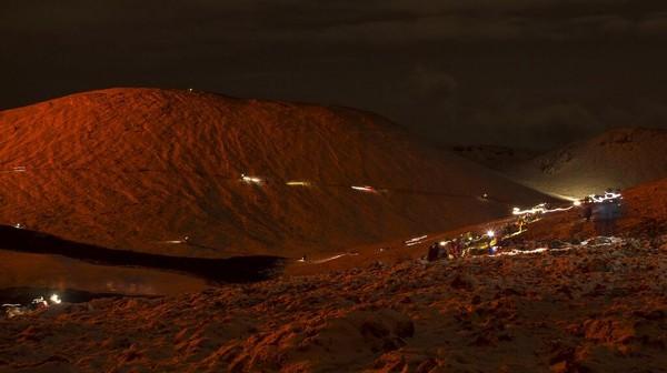 Diketahui, Geldingadalur adalah salah satu dari tiga puluh dua gunung berapi aktif di sistem gunung berapi Islandia.