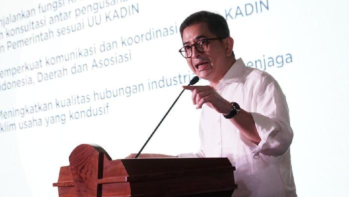 Wakil Ketua Umum Kadin resmi mencalonkan diri sebagai Ketua Umum Kamr Dagang dan Industri (KADIN) Indonesia periode 2021-2026.