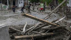 Penampakan Banjir Lumpur yang Menghantam Sigi Sulteng