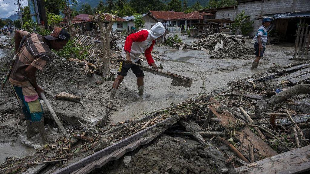 170 Rumah Rusak Imbas Banjir Lumpur di Sigi