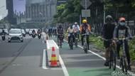 ITDP: Opsi Hapus Jalur Sepeda Permanen Salah Kaprah!