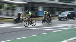 Pesepeda untuk Olahraga Tak Gunakan Jalanan Umum, Setuju?