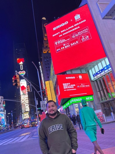 Instagram Muhammad Saddad, CEO Erigo