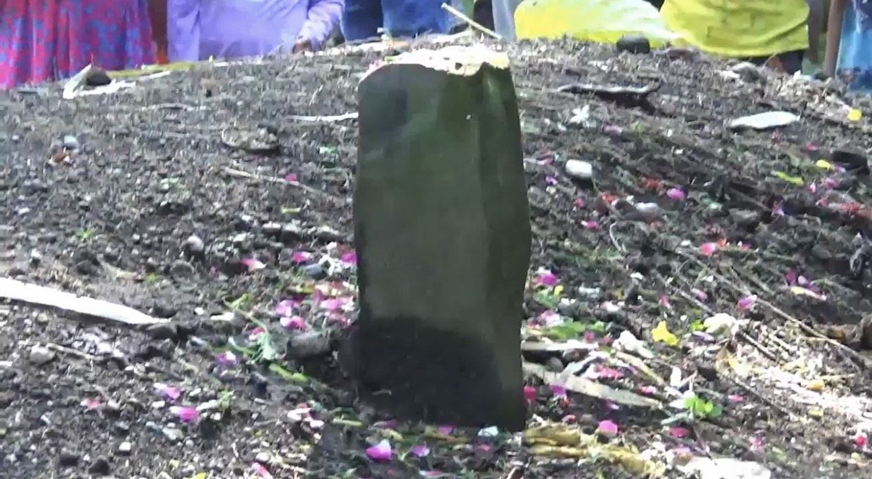 Lokasi tanah kuburan meninggi di Padang Pariaman