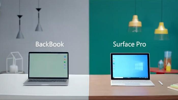 Iklan Microsoft ejek Apple