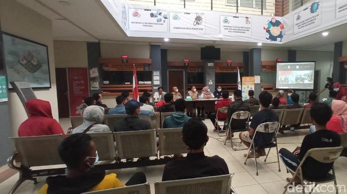 Pekerja Migran Diamankan BP2MI Bandung