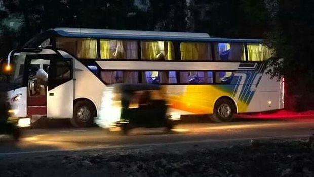 Sleeper bus Laksana yang ditiru karoser luar negeri