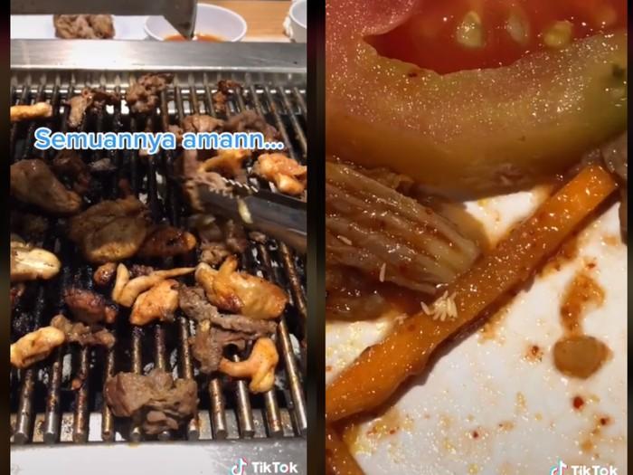 Jijik! Pria Surabaya Ini Temukan Telur Lalat saat Makan Kimchi di Restoran