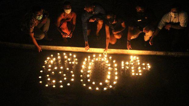 Earth Hour di The Trans Resort Bali