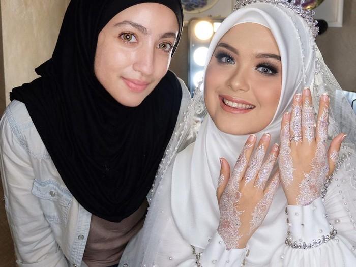 Ima Habsyi (kiri) dan Vebby Palwinta (kanan). Foto: Dok. pribadi Barbie Ima.