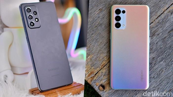 Galaxy A52 vs Reno5