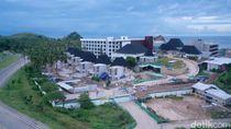 Potret Pembangunan Hotel di Mandalika Lombok Jelang MotoGP