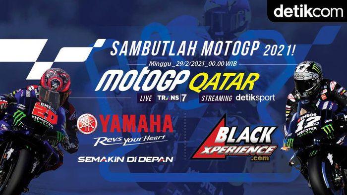 Infografis MotoGP Qatar 2021