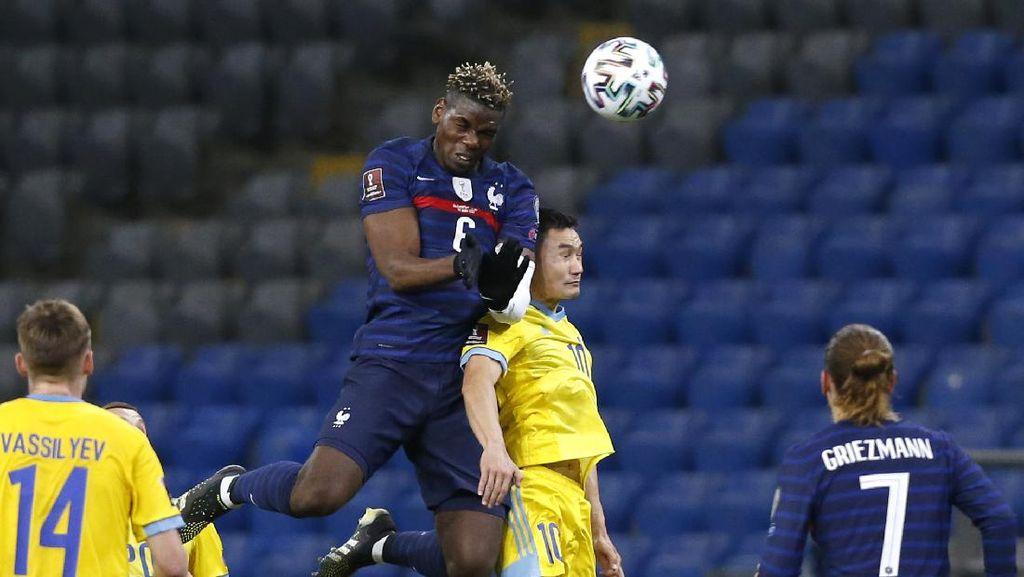 Hasil Kualifikasi Piala Dunia 2022: Prancis Bekuk Kazakhstan 2-0