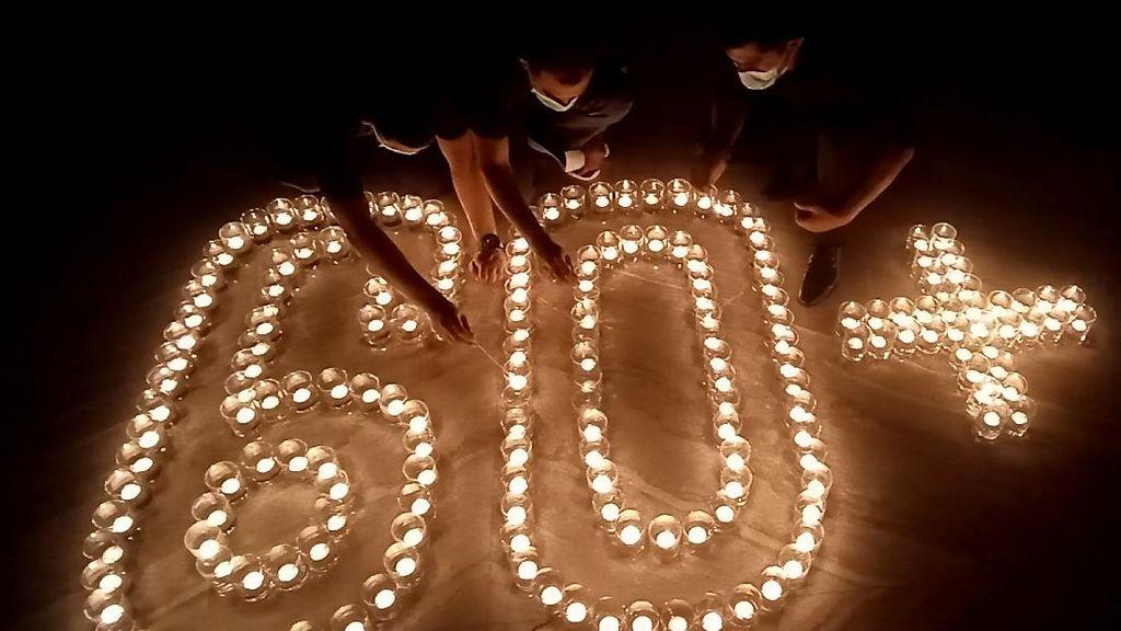 Melihat Peringatan Earth Hour 2021 di Berbagai Daerah Indonesia