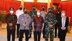 Potret Panglima TNI-Kapolri Datangi Lokasi Ledakan Bom di Makassar