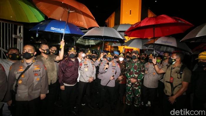 Panglima TNI dan Kapolri datangi lokasi bom bunuh diri Makassar