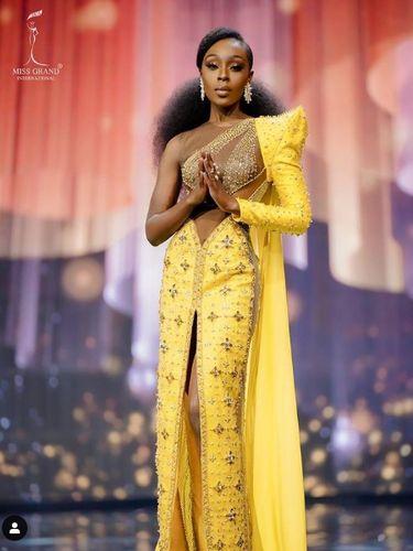 Pemenang Miss Grand International 2020 Abena Appiah