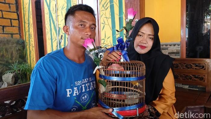 pernikahan mas kawin burung kenari