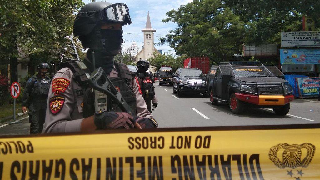 Survei: 80% Responden Khawatir dengan Teror di Makassar dan Mabes Polri