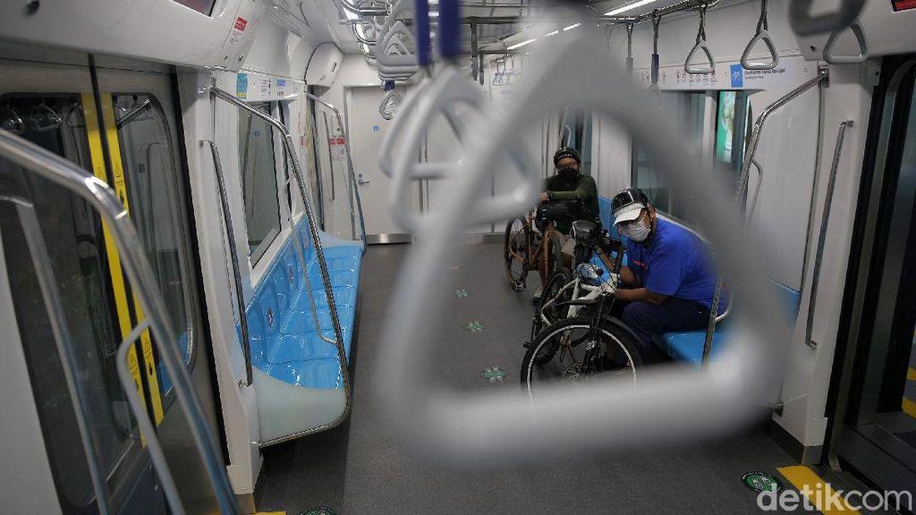 Sepeda Nonlipat Kini Bisa Naik MRT, Ini Syaratnya!