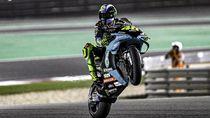 Sudah Bagus-bagus Start ke-4, Kenapa Rossi Akhirnya Jeblok di MotoGP Qatar?