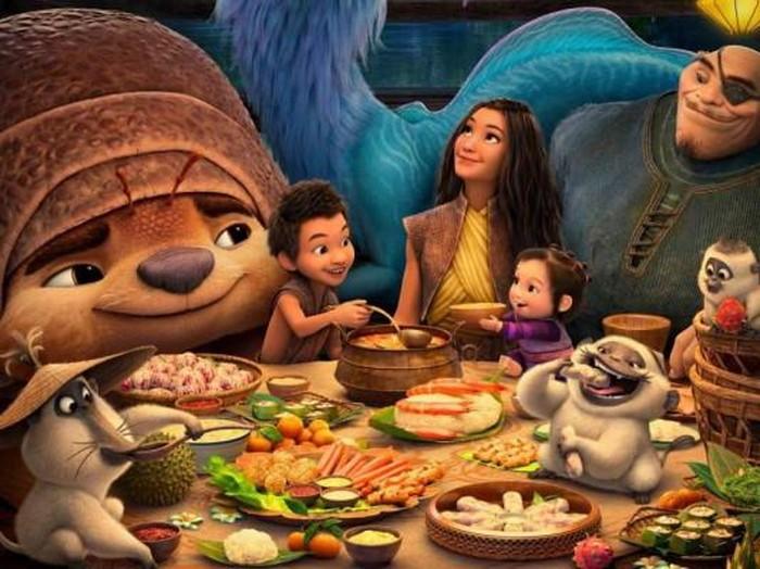 5 Makanan Asia Tenggara Ini Muncul di Film Raya and the Last Dragon