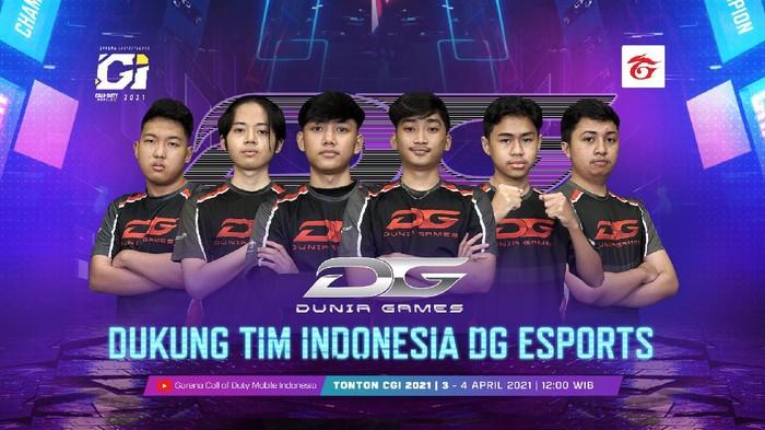 Akhir Pekan Ini! Dukung Tim Indonesia DG Esports di CGI 2021 Dan Menangkan Sepeda Motor Honda