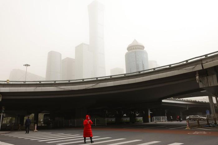 Badai pasir di Beijing