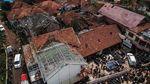 Puting Beliung Terjang Rumah Warga di Bandung
