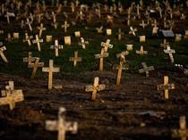 Brasil Capai 500 Ribu Kematian Akibat Corona