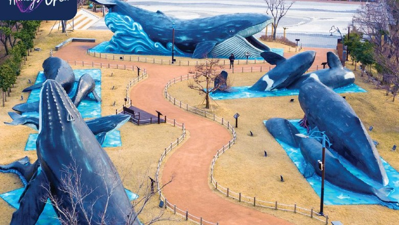 Desa Budaya Paus Jangsengpo di Ulsan, Korea Selatan
