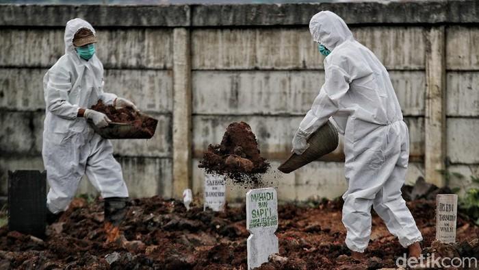 Tempat Pemakaman Umum (TPU) Rorotan, Cilincing, Jakarta sudah mulai difungsikan. Tahap awal akan disiapkan sebanyak 1.500 petak makam.