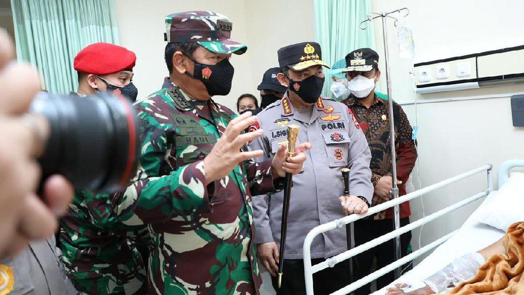 Panglima TNI dan Kapolri Akan Bertolak ke Papua Sore Ini