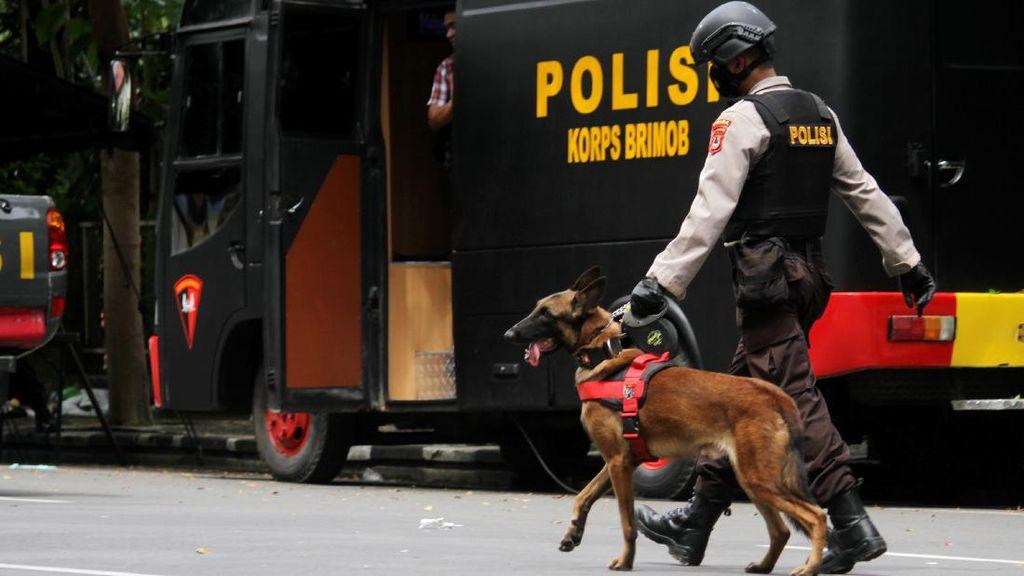 53 Teroris Jadi Tersangka Kasus Bom Gereja Katedral Makassar