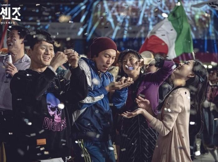 Pemain Vincenzo, drama Korea tayang di Netflix. Foto: dok SBS