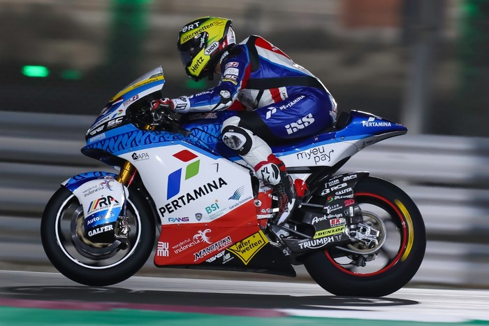 Pertamina Mandalika SAG Team di Seri Pembuka Moto2 2021