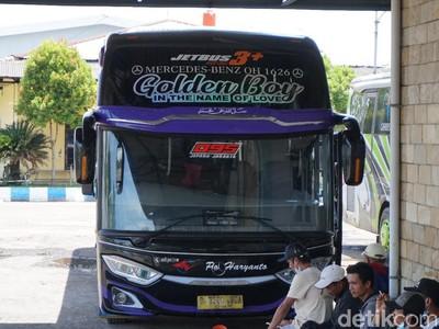 Potret Bus Eksekutif PO Haryanto yang Sederhana Saja