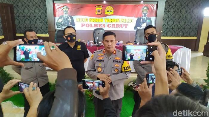 Polres Garut memperketat pengamana gereja pasca serangan bom di Makassar
