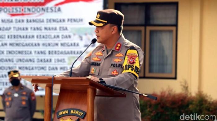 Polres Sukabumi memperketat pengamanan pasca adanya bom bunuh diri di Makassar