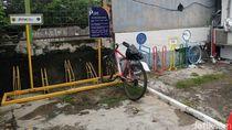 #ParkiruntukSepeda Stasiun KRL Kawasan Depok-Jaksel: Masih Banyak Kosong