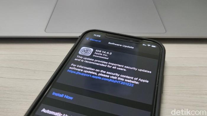 Update iOS 14.4.2
