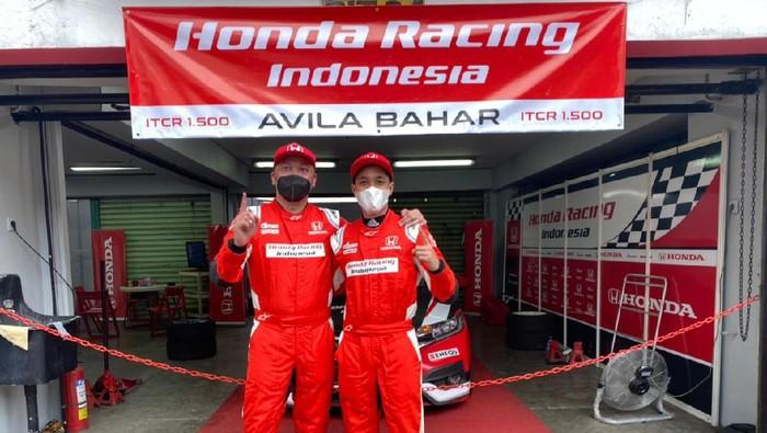 Alvin-Avila Bahar dari Honda Racing Team menangi seri pertama ISSOM 2021