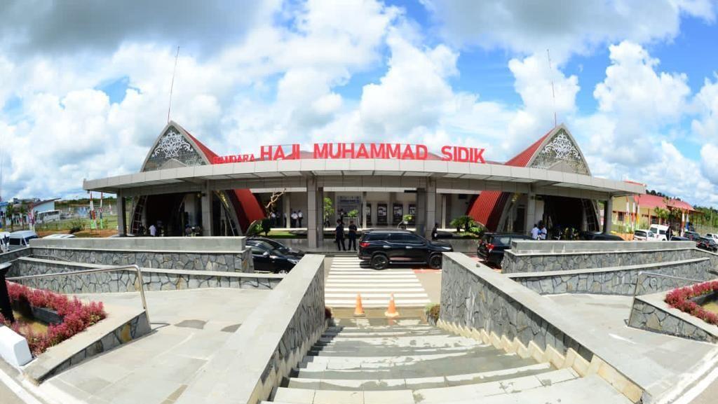 Bandara Baru Kalteng Diresmikan Maruf Amin, Ini 3 Faktanya